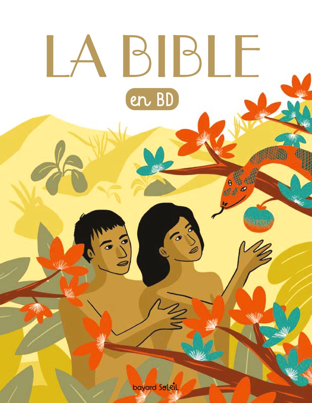 Couverture de «La Bible en BD (broché)»