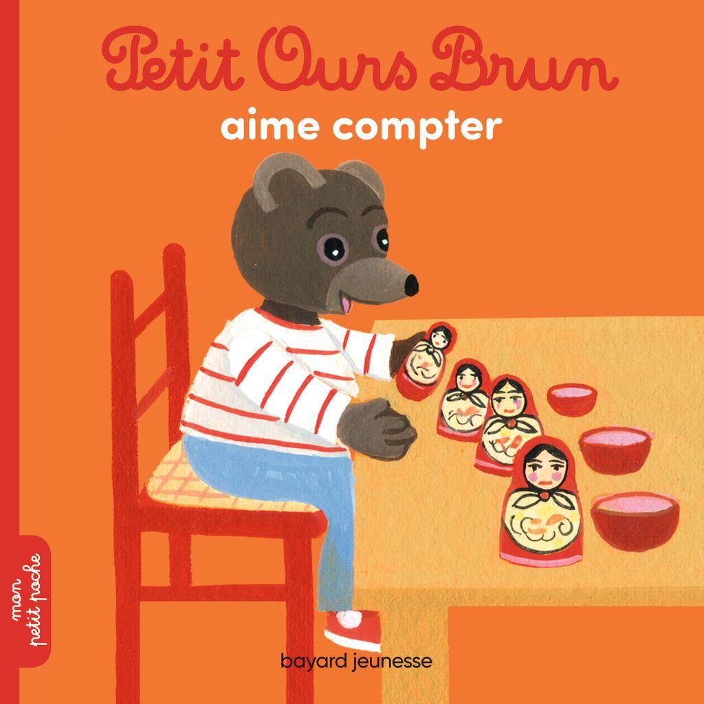 Couverture de «Petit Ours Brun aime compter»