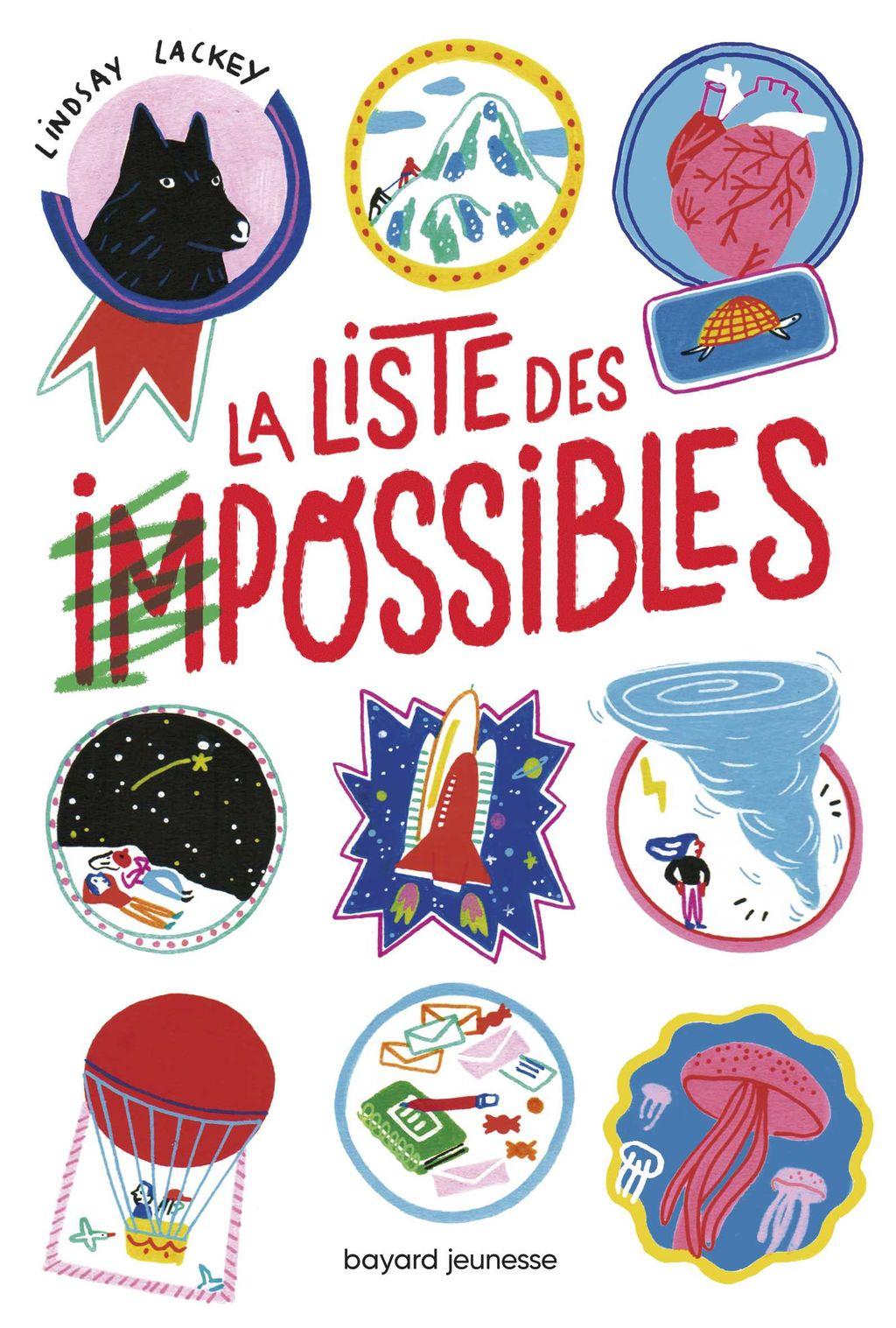 Couverture de «La liste des impossibles»