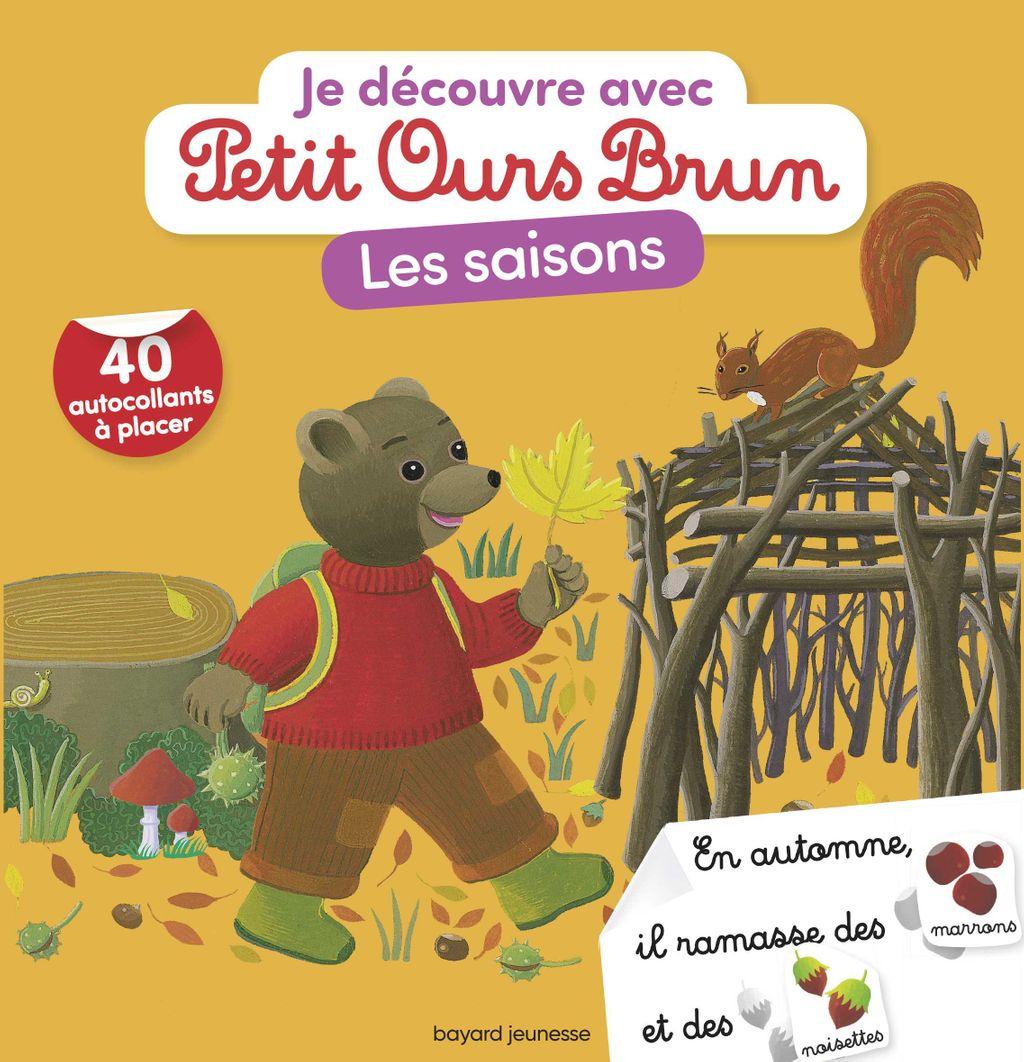 Couverture de «Je découvre les saisons avec Petit Ours Brun»