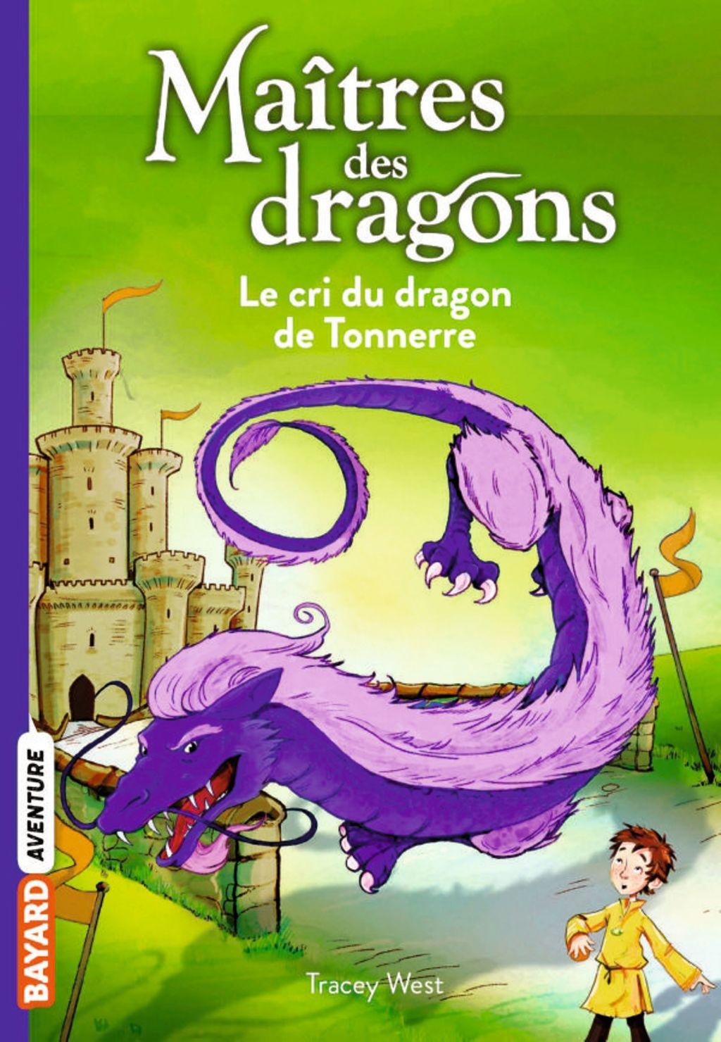 Couverture de «Le cri du dragon du Tonnerre»
