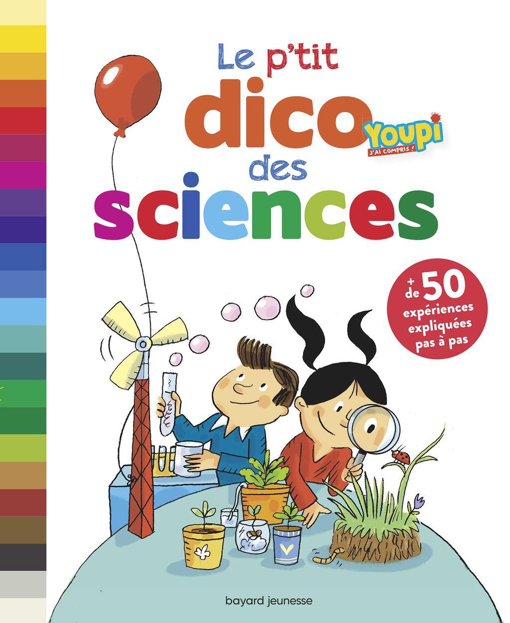 Couverture de «Le p'tit dico des sciences (NE)»