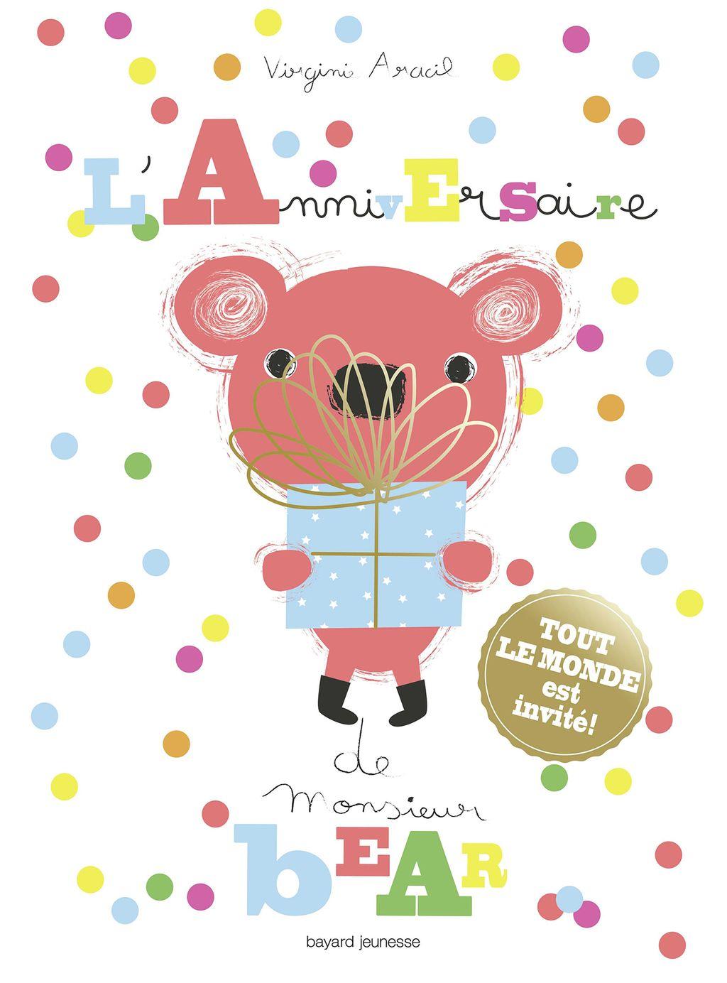 Couverture de «L'anniversaire de M. Bear»
