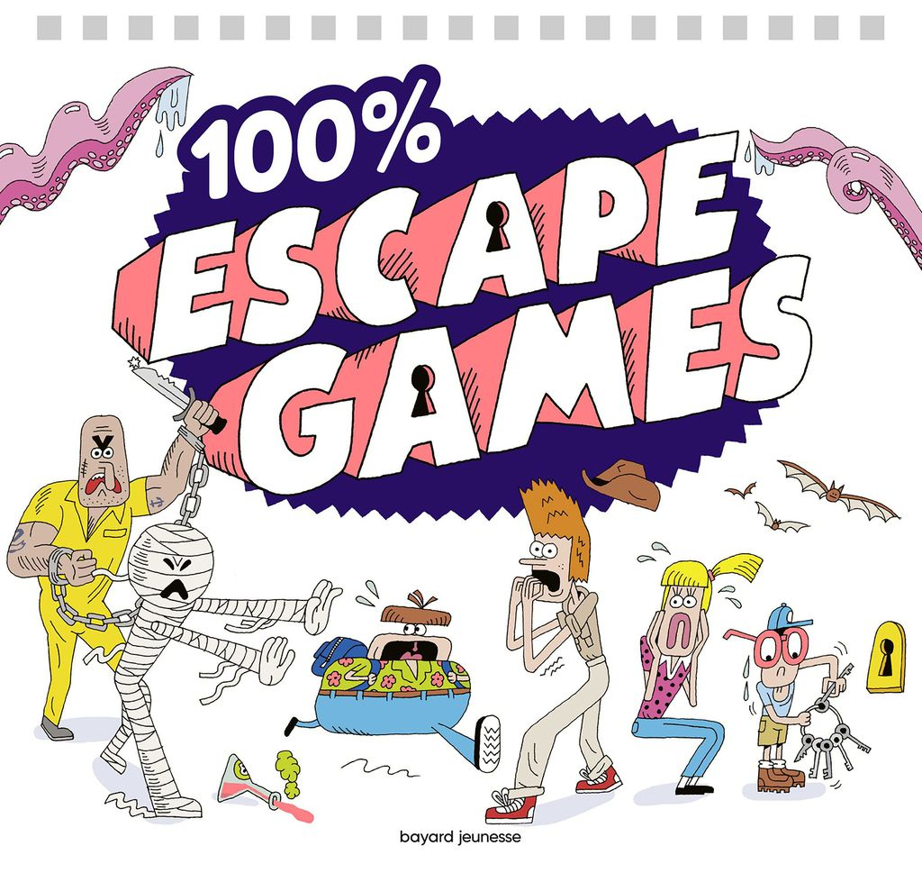 Couverture de « 100 % escape games »