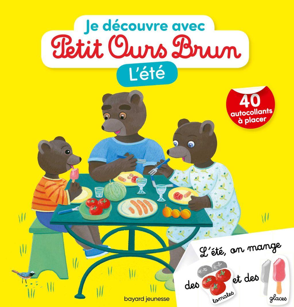 Couverture de «Je découvre l'été avec Petit Ours Brun»