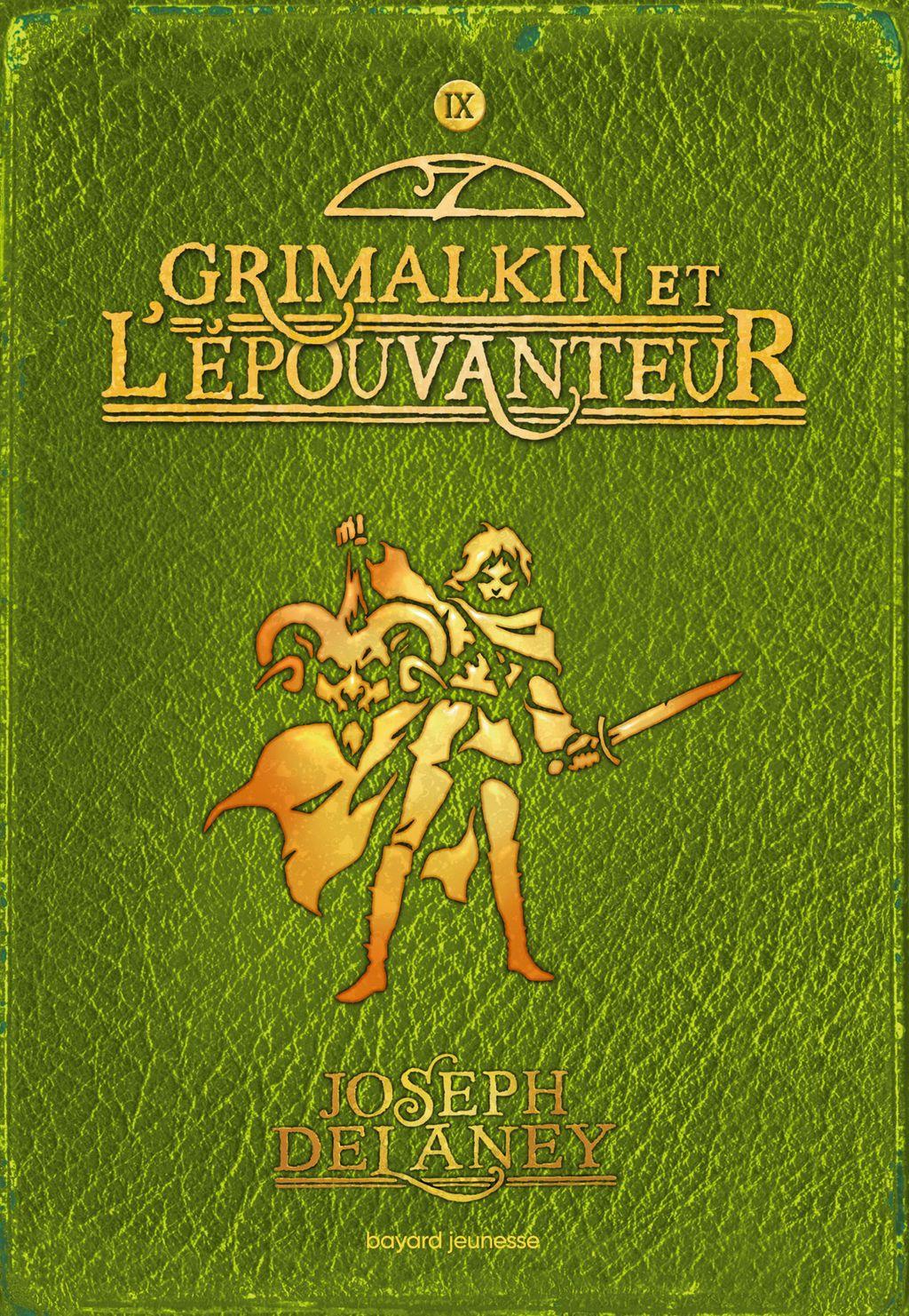 Couverture de «Grimalkin et l'épouvanteur»