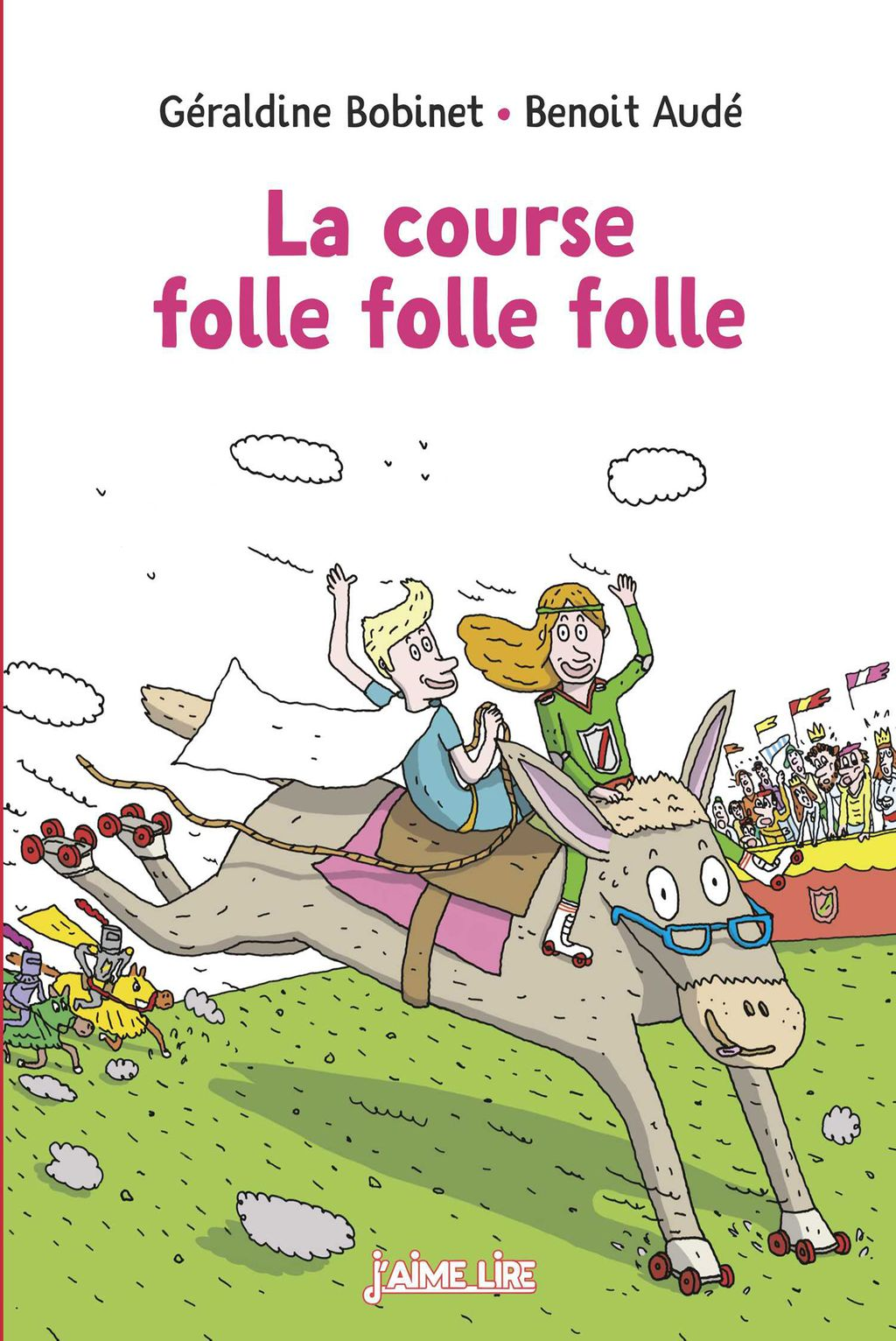 Couverture de « La course folle folle folle »
