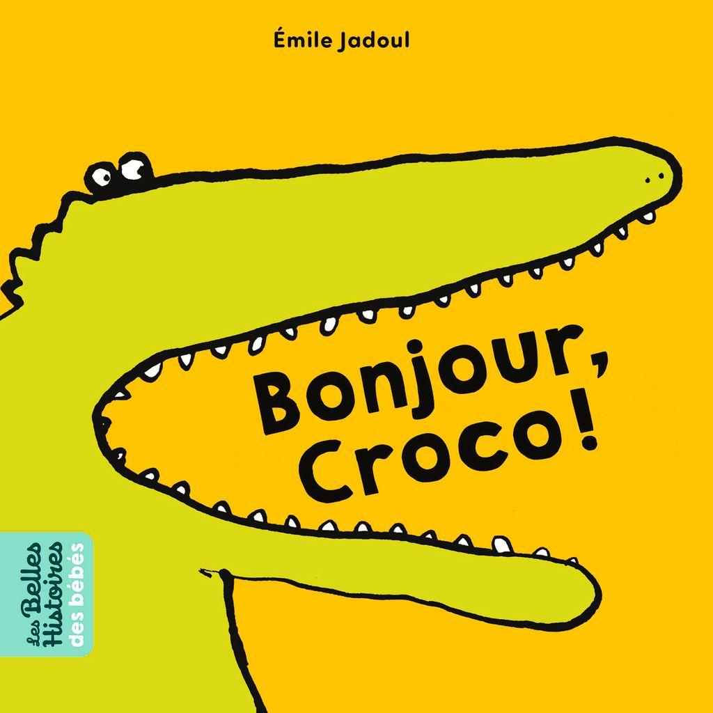 Couverture de «Bonjour, Croco !»