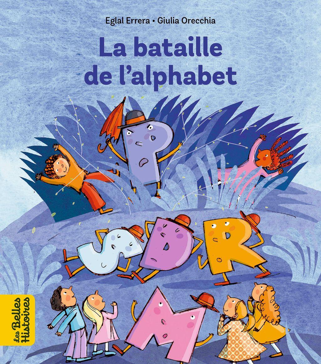 Couverture de «La bataille de l'alphabet»