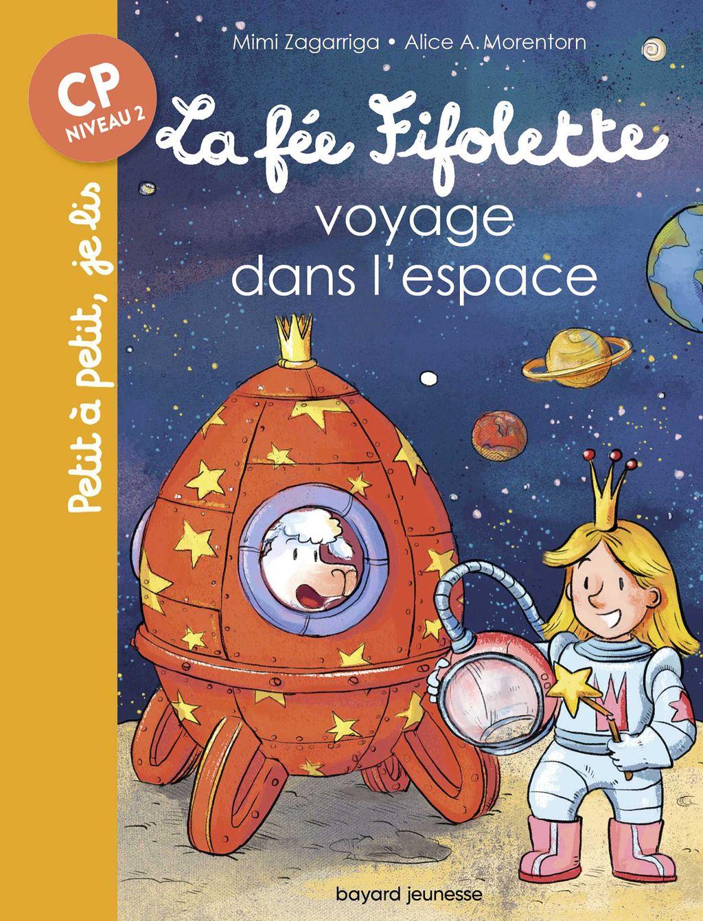 Couverture de «La fée Fifolette voyage dans l'espace»