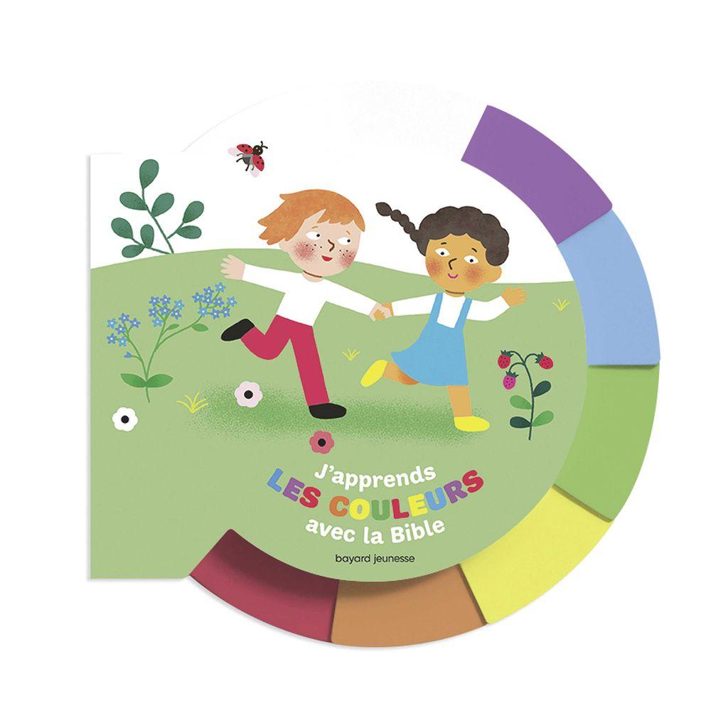 Couverture de «J'apprends les couleurs avec la Bible»
