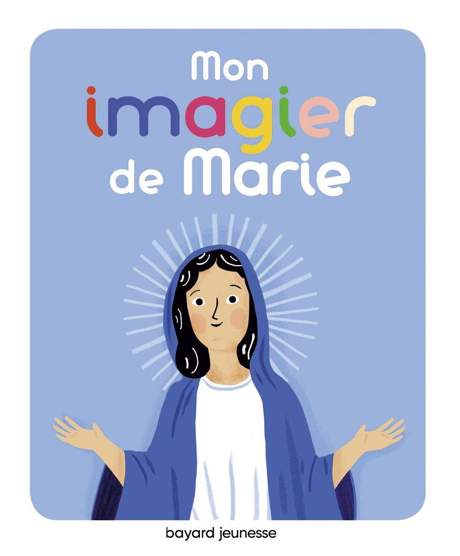 «Mon imagier de Marie» cover