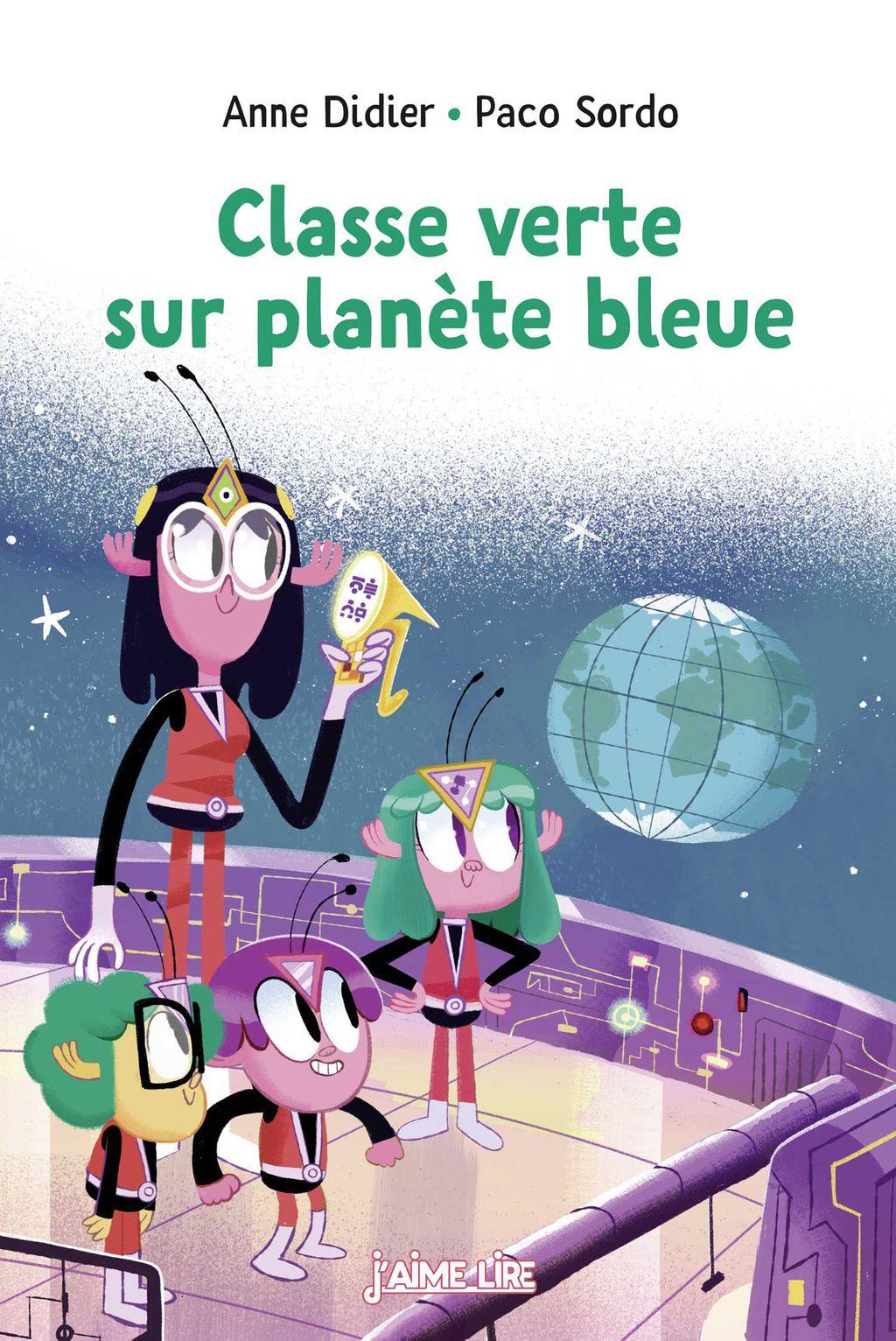 Couverture de «Classe verte sur planète bleue»