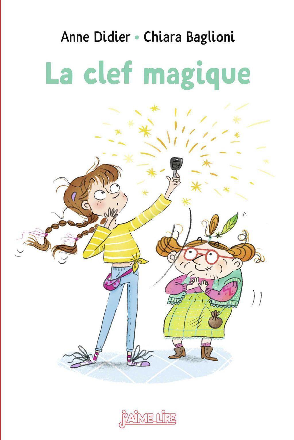 «La clef magique» cover