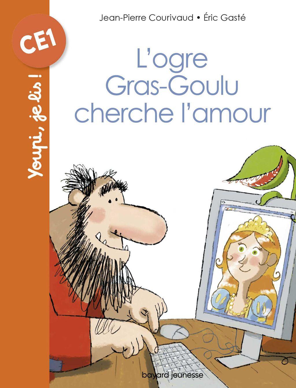 Couverture de «L'ogre Gras-goulu cherche l'amour»
