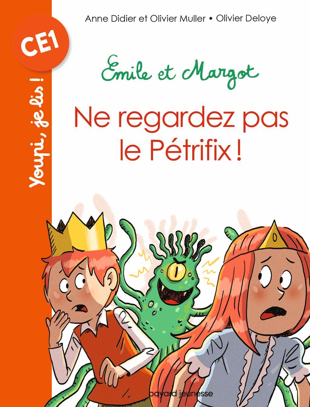 Couverture de «Emile et Margot – Ne regardez pas le Pétrifix»