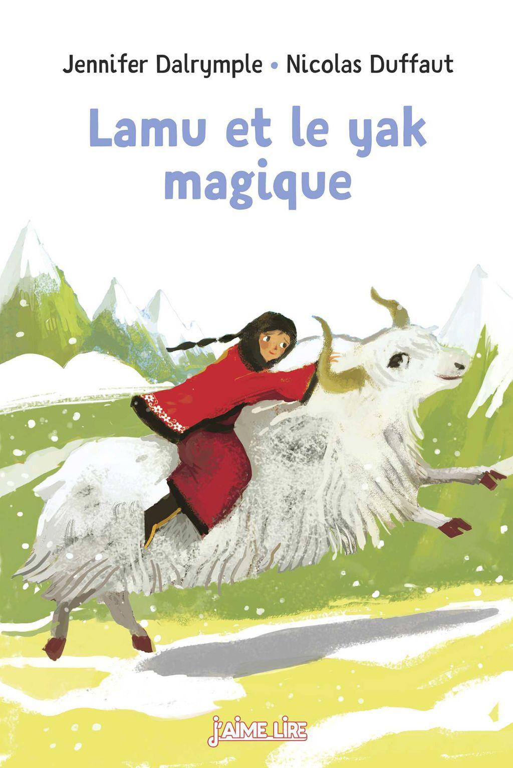 Couverture de «Lamu et le yak magique»