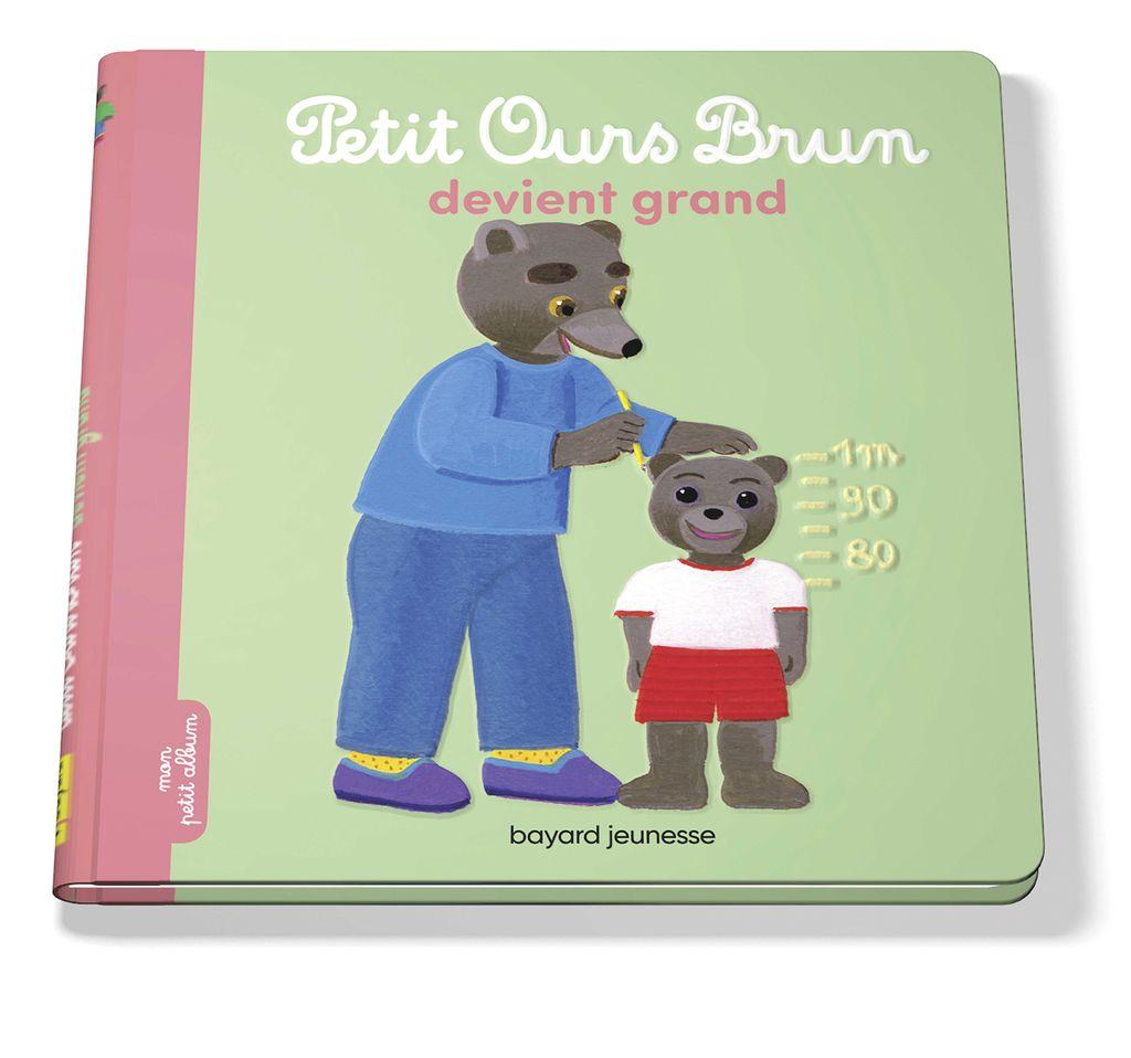 Couverture de «Petit Ours Brun devient grand»