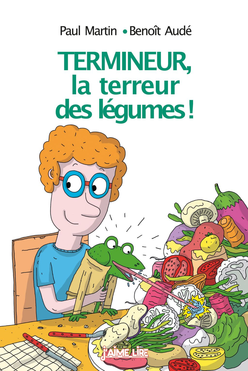 «Termineur, la terreur des légumes !» cover