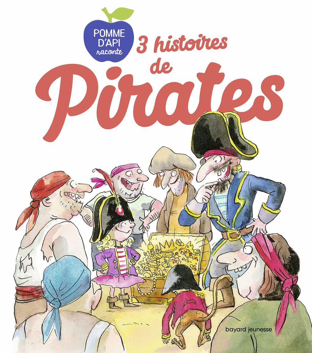 Couverture de «3 histoires de pirates»