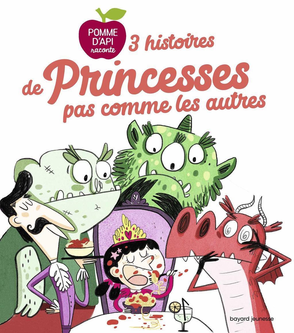 Couverture de «3 histoires de princesses pas comme les autres»