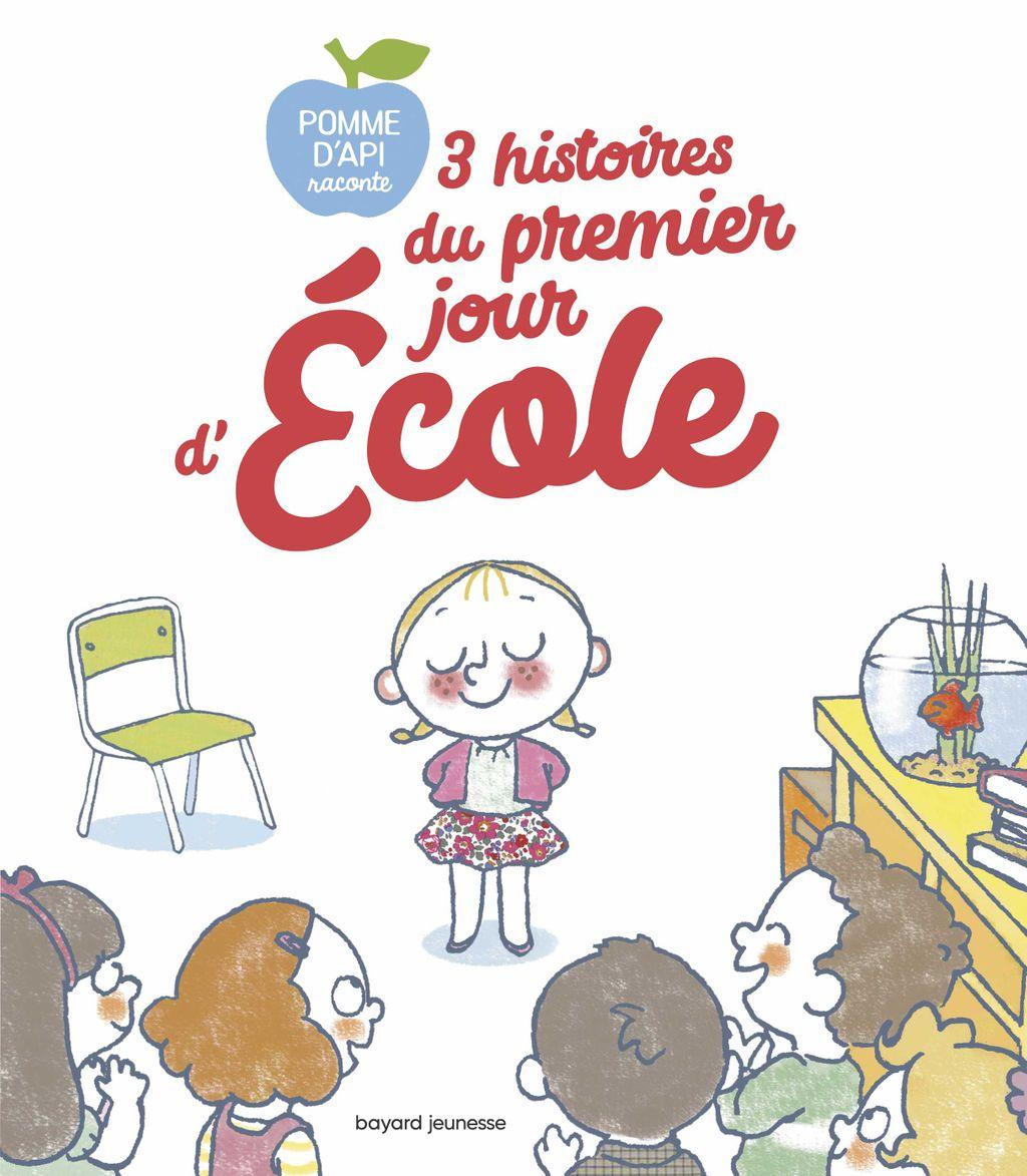 Couverture de «3 histoires du premier jour d'école»
