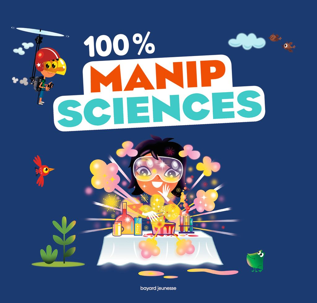 « 100 % manip sciences » cover