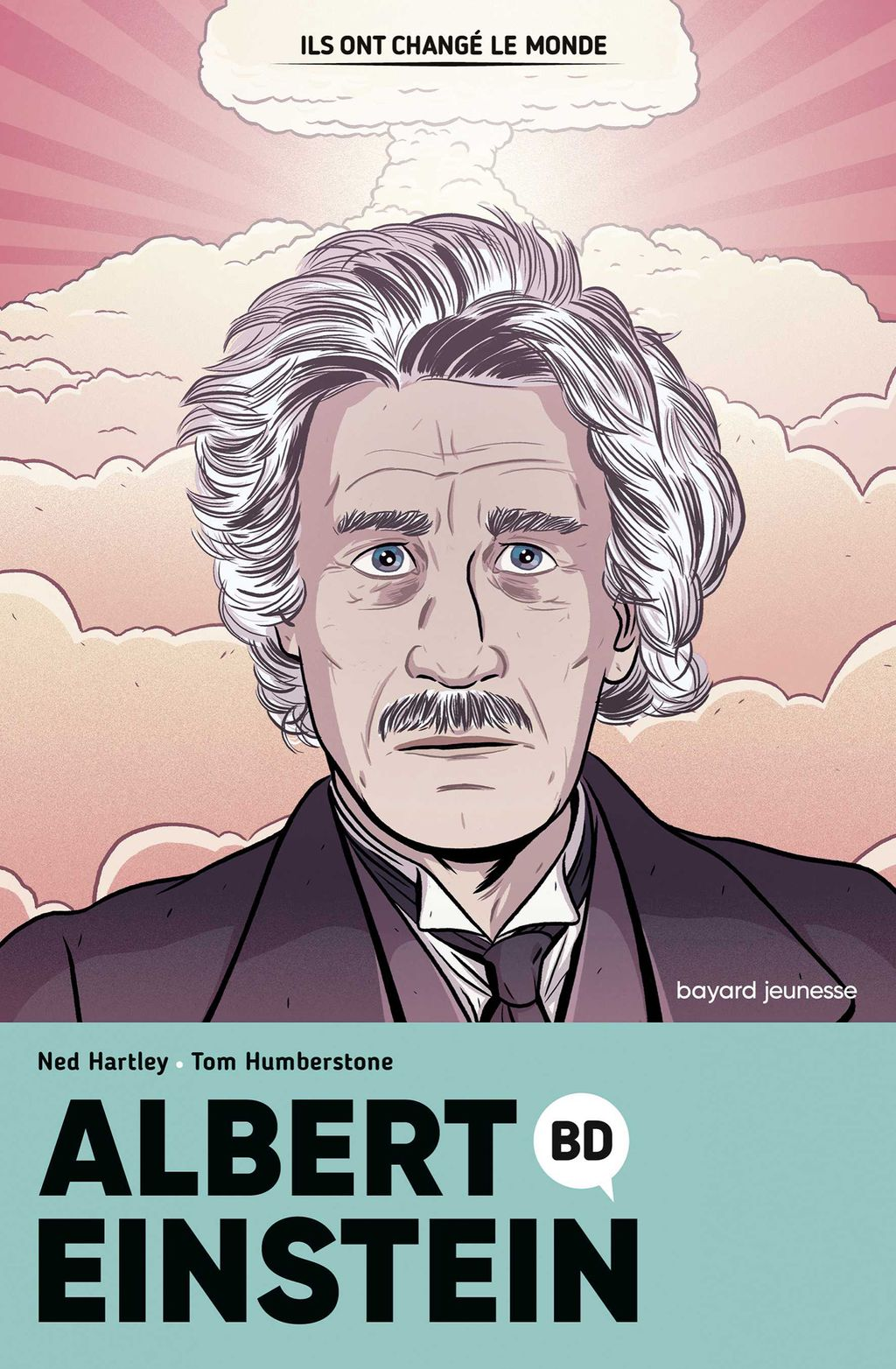 Couverture de « Albert Einstein en BD »