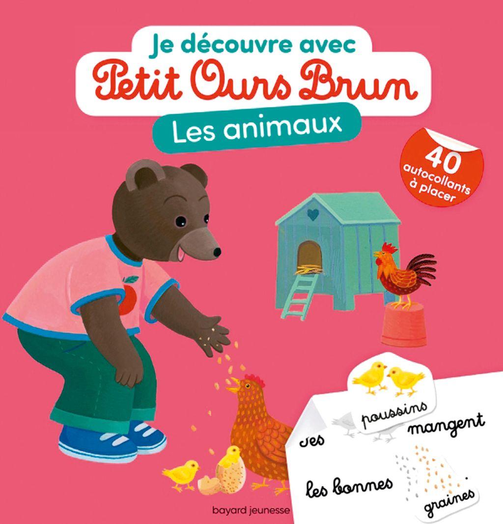 Couverture de «Je découvre les animaux avec Petit Ours Brun»
