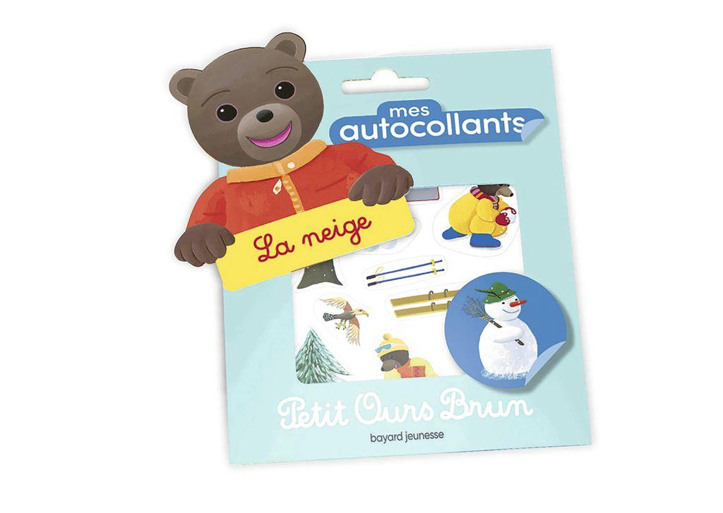 Couverture de «Mes autocollants Petit Ours Brun – La neige»