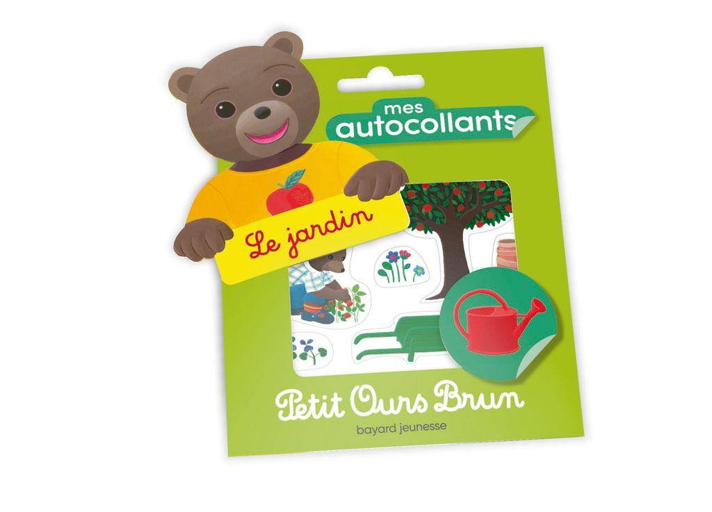Couverture de «Mes autocollants Petit Ours Brun – Le jardin»
