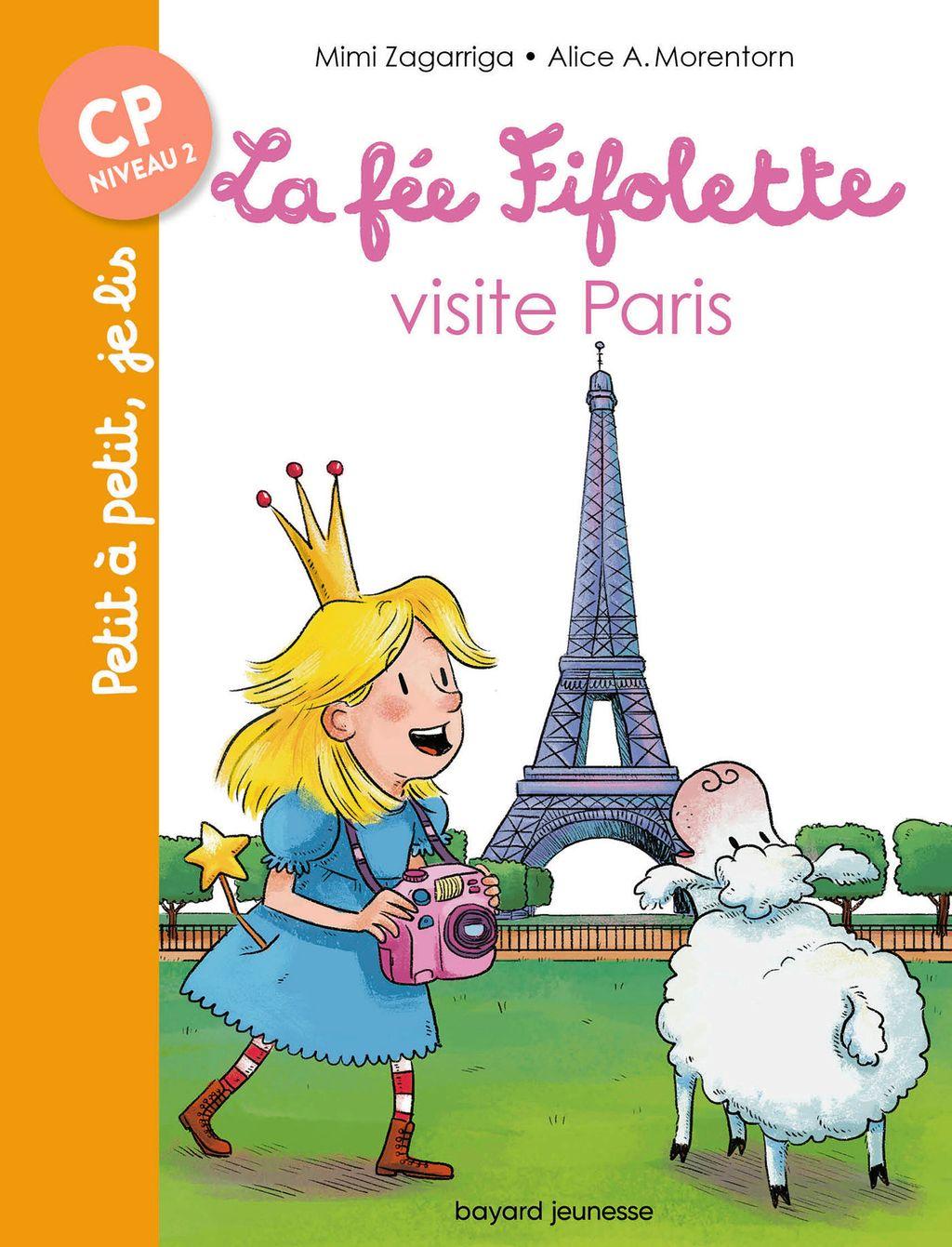 Couverture de «La fée Fifolette visite Paris»