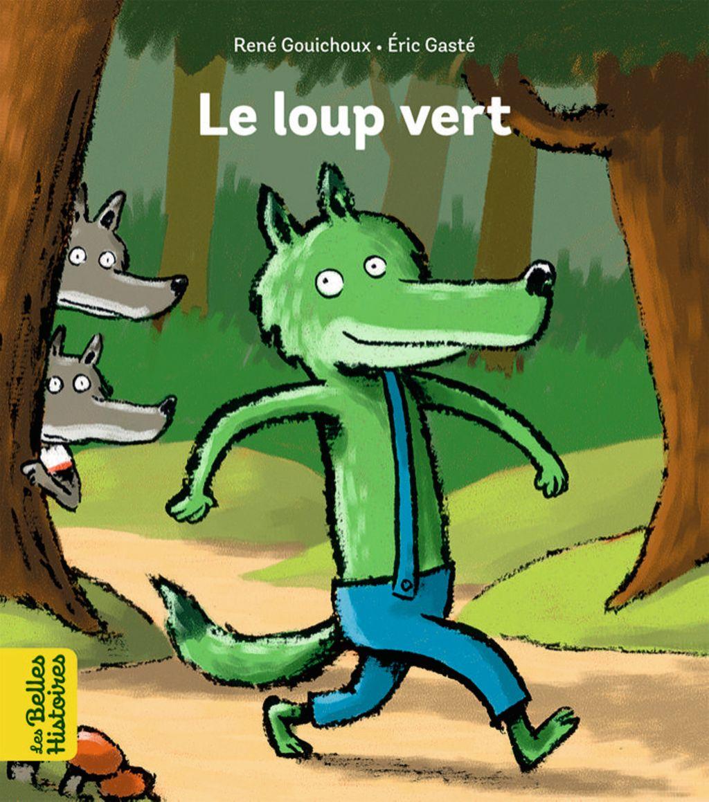 Couverture de «Le loup vert»