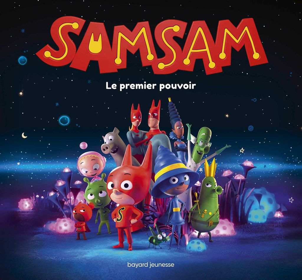 Couverture de « SamSam – Le grand album du film »
