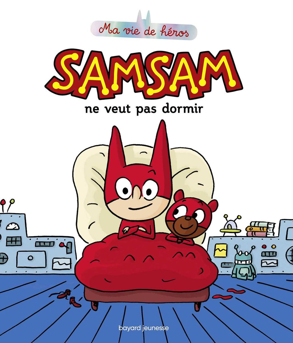 Couverture de «SamSam ne veut pas dormir»
