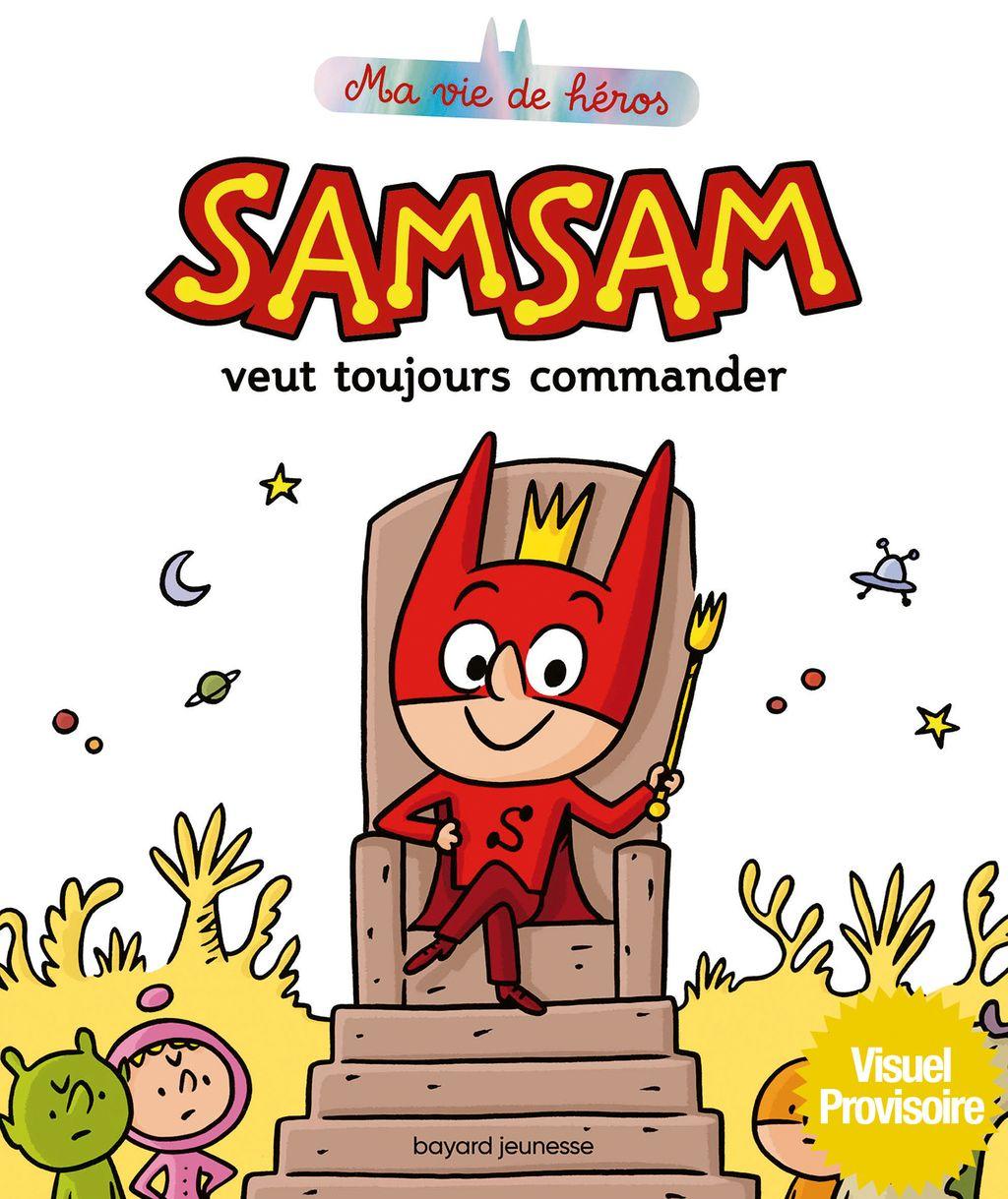 «SamSam veut toujours commander» cover