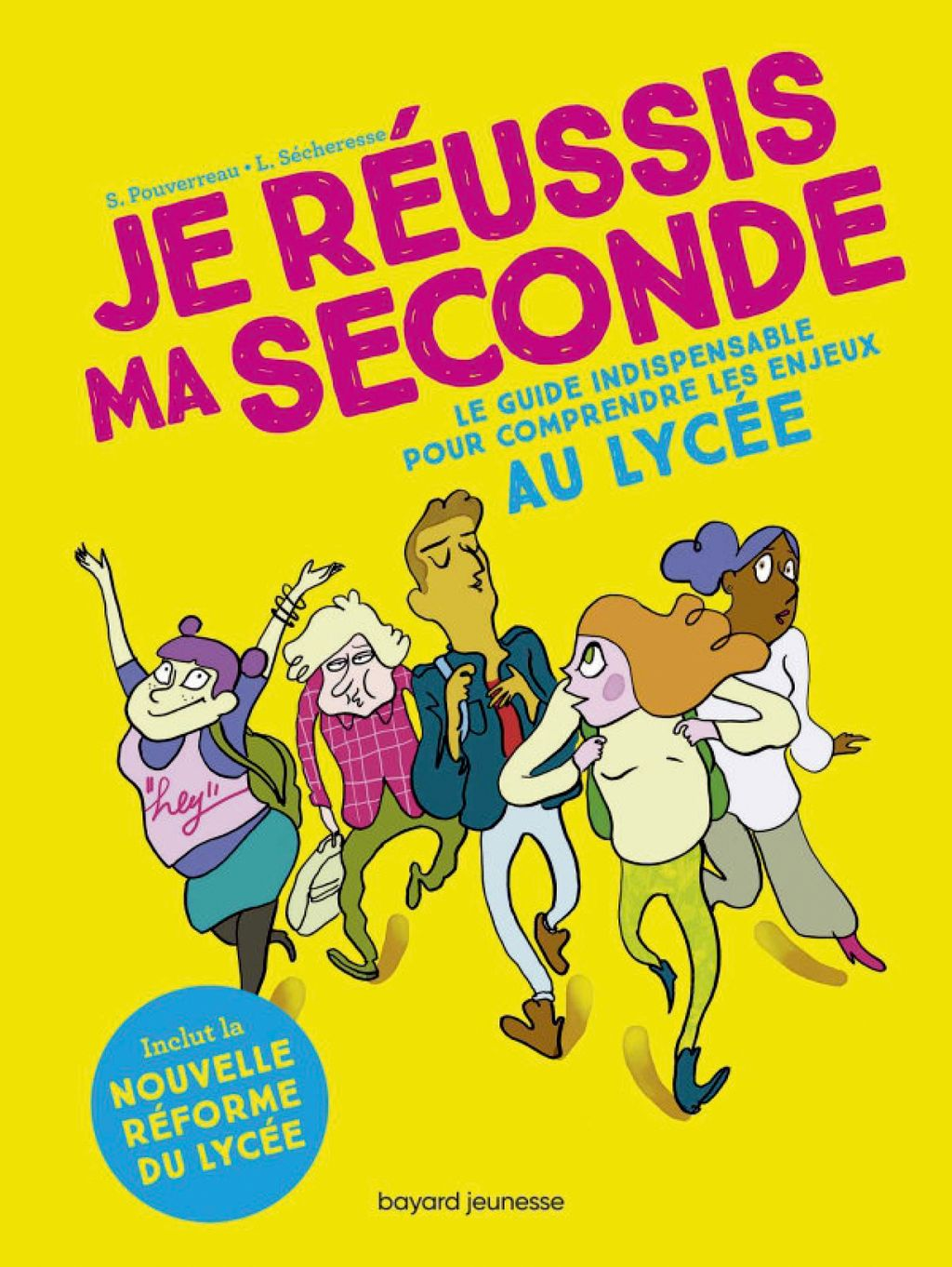 Couverture de « Je réussis ma seconde »