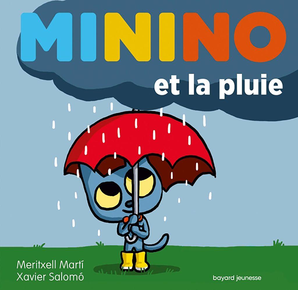 Couverture de «Minino et la pluie»