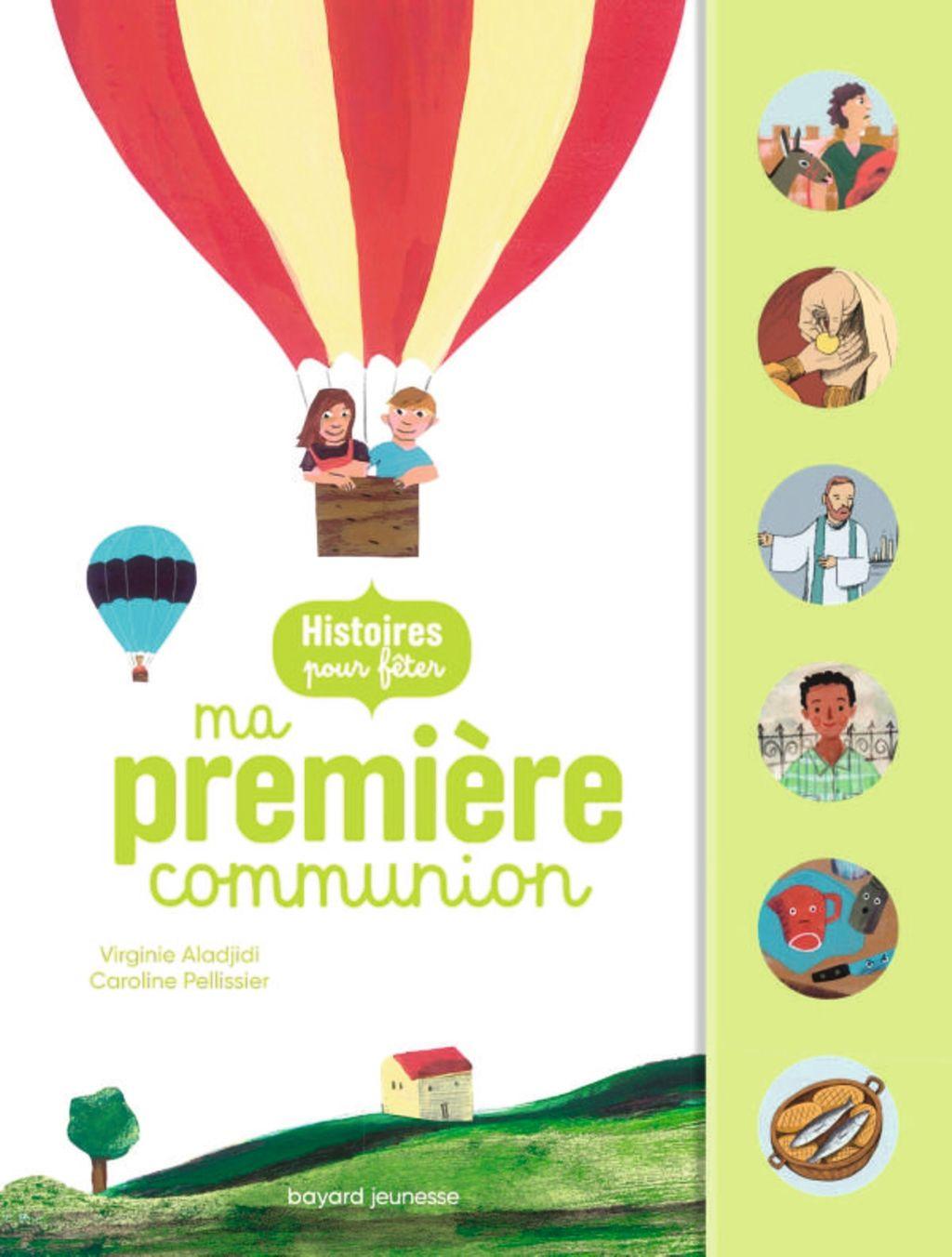 «Histoires pour fêter ma première communion» cover