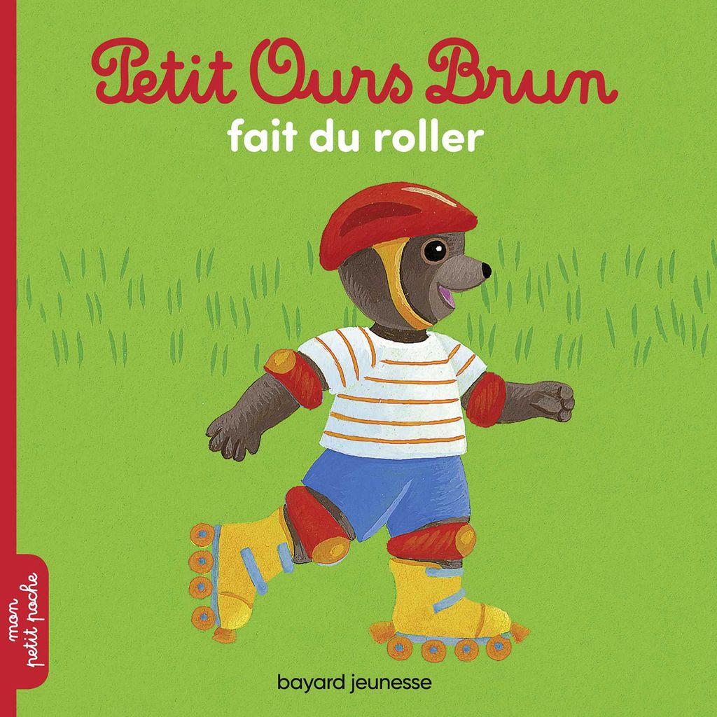 Couverture de «Petit Ours Brun fait du roller»
