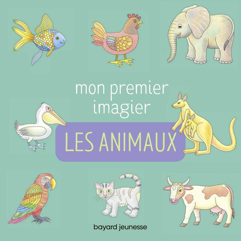 «Mon premier imagier – Les animaux» cover