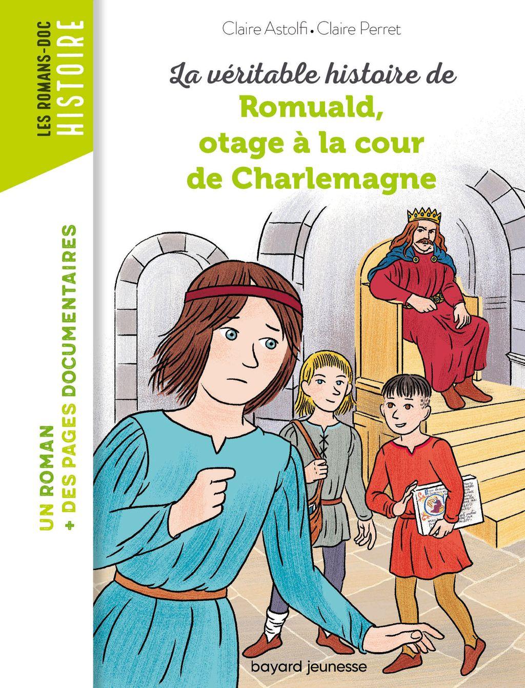 Couverture de «Romuald, otage à la cour de Charlemagne»