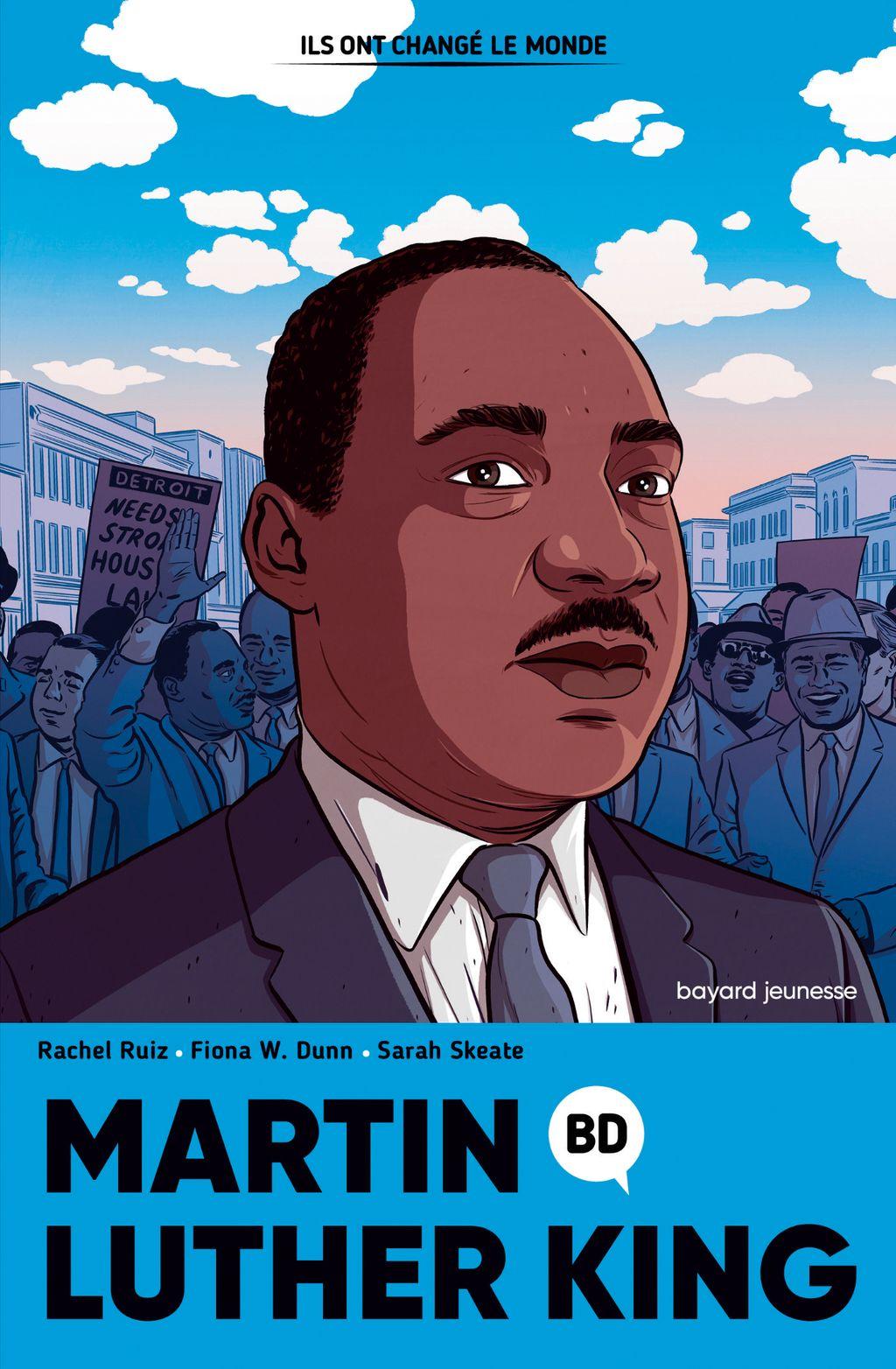 Couverture de «Martin Luther King en BD»