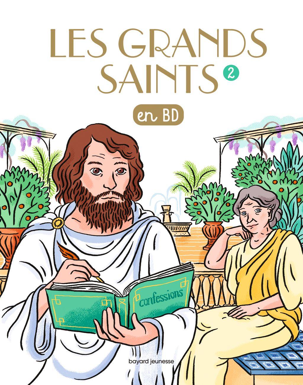 Couverture de «Les Grands saints T2»