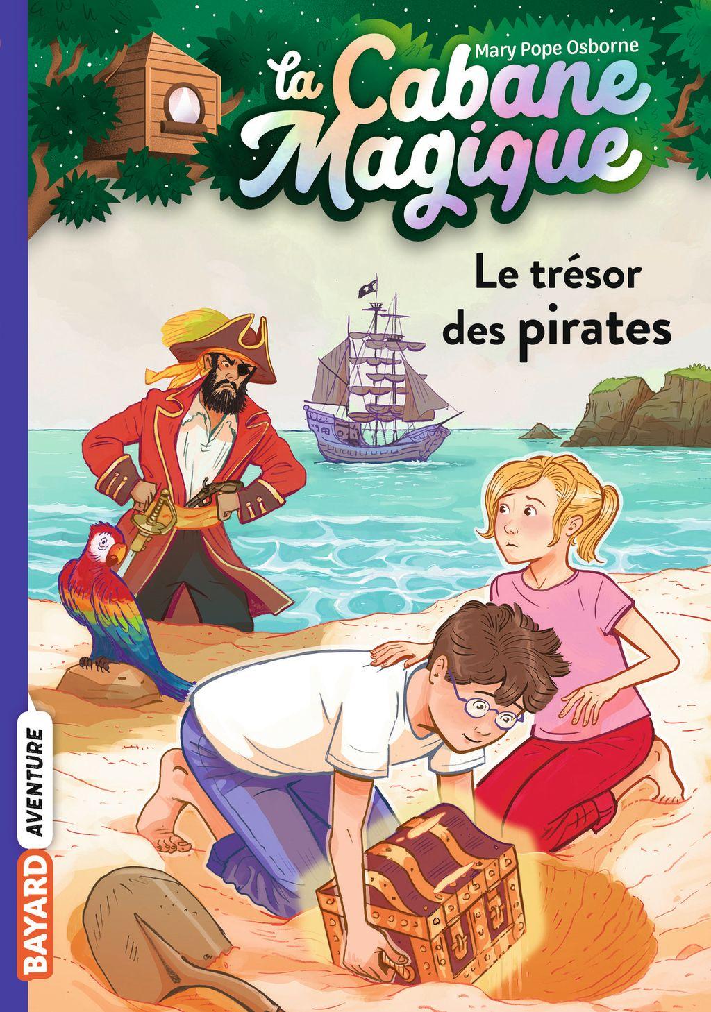 Couverture de «Le trésor des pirates»