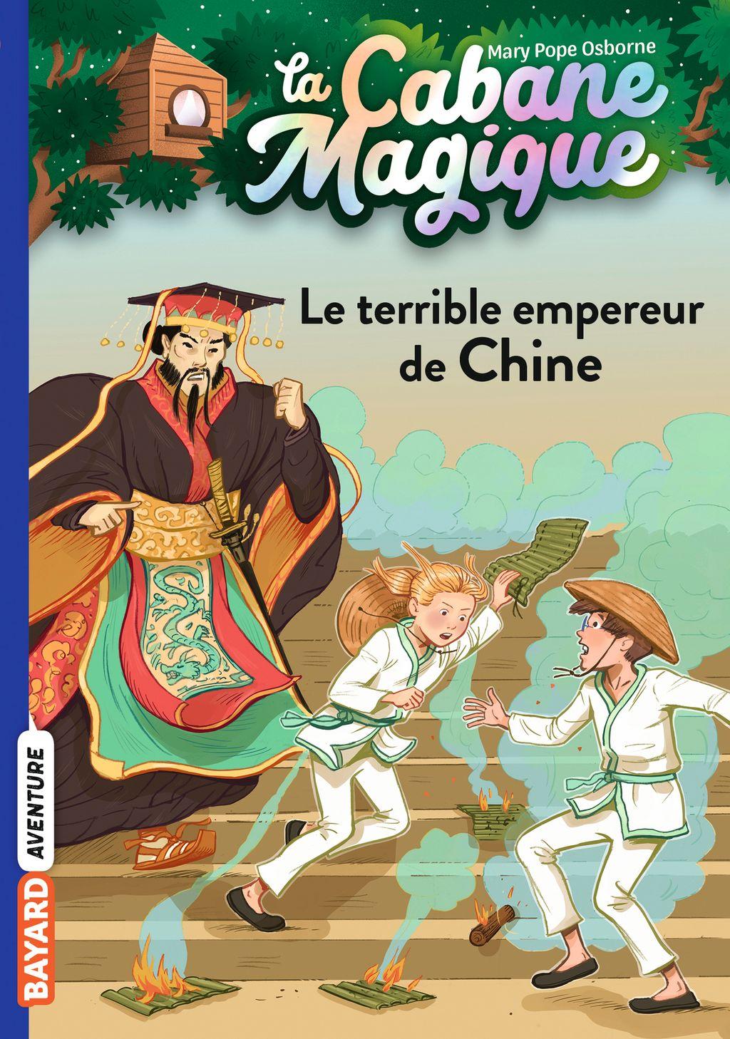 Couverture de «Le terrible empereur de Chine»