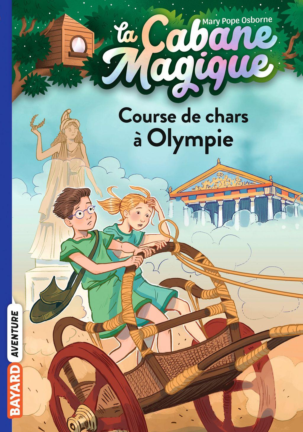 Couverture de «Course de chars à Olympie»