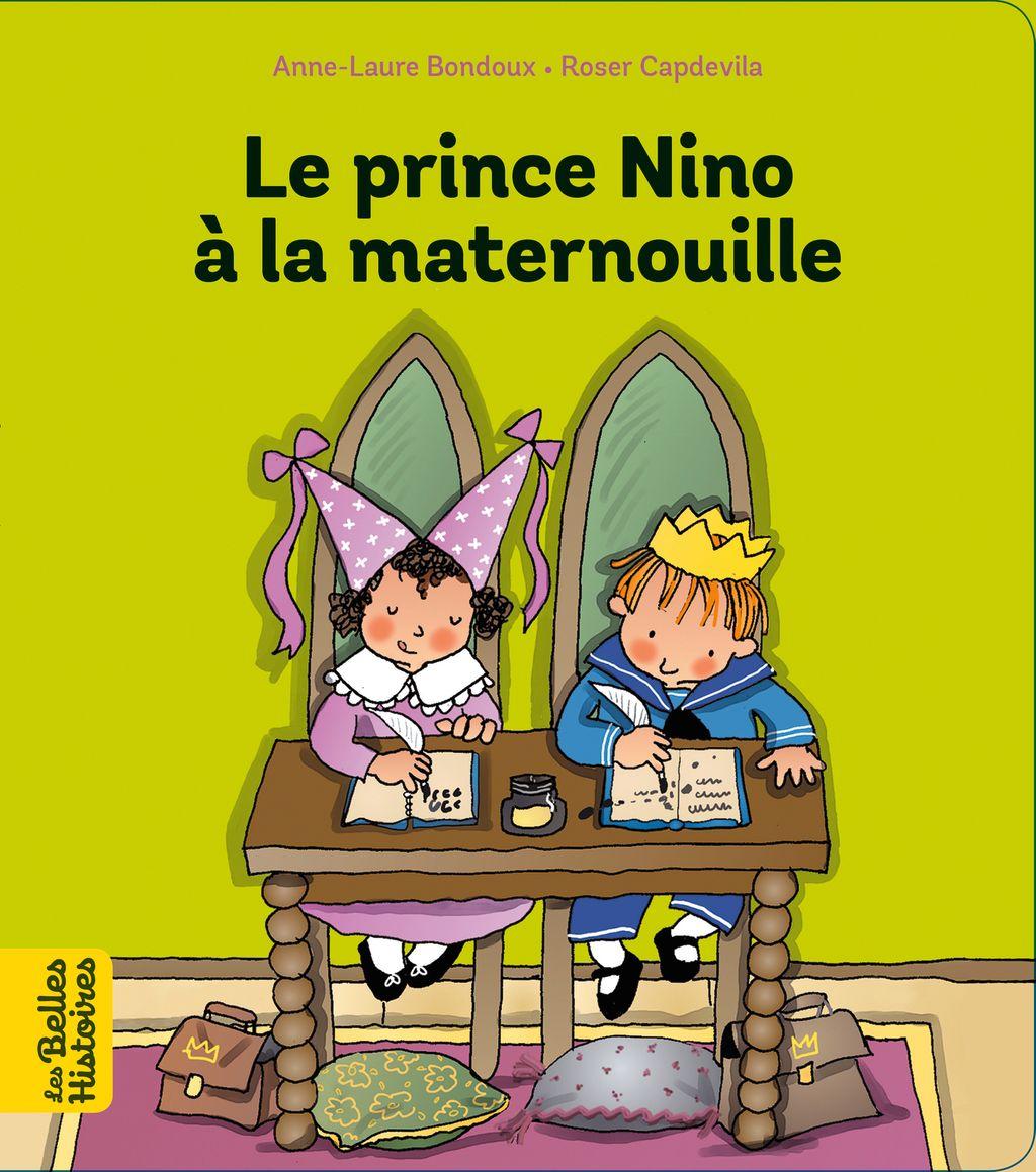 Couverture de «Le prince Nino à la maternouille»