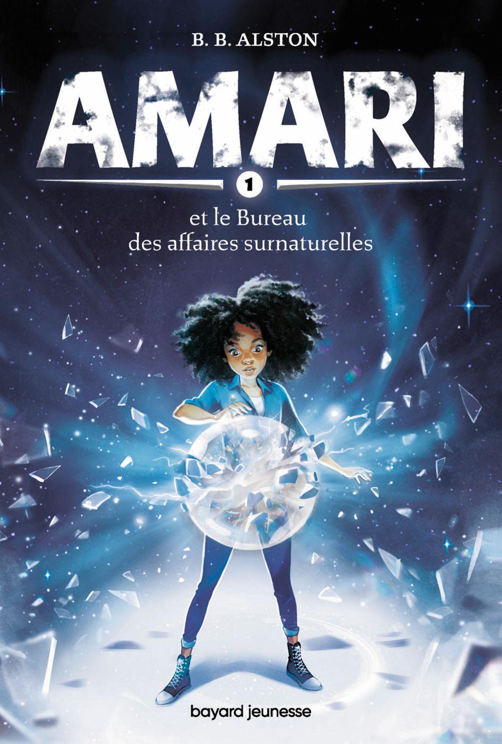 Couverture de «Amari et le Bureau des affaires surnaturelles»