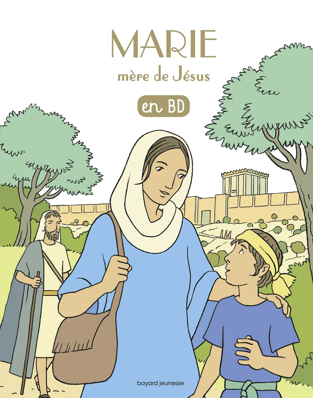 Couverture de «Marie, mère de Jésus, en BD»
